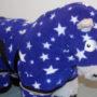 Kuscheldecke Sterne blau Kopf_01